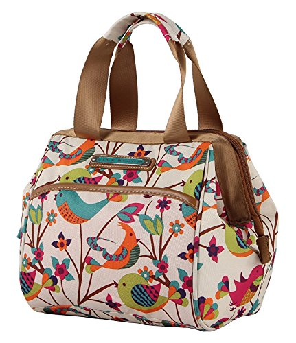 Lily Bloom Insulated Double Handle Zipper Lunch Cooler/Tote (Tweety Twig)