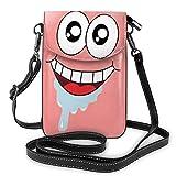 Patri Star - Bolso bandolera ligero de piel para teléfono móvil, cartera, bolso de viaje, bolso de mano con tarjeta de crédito
