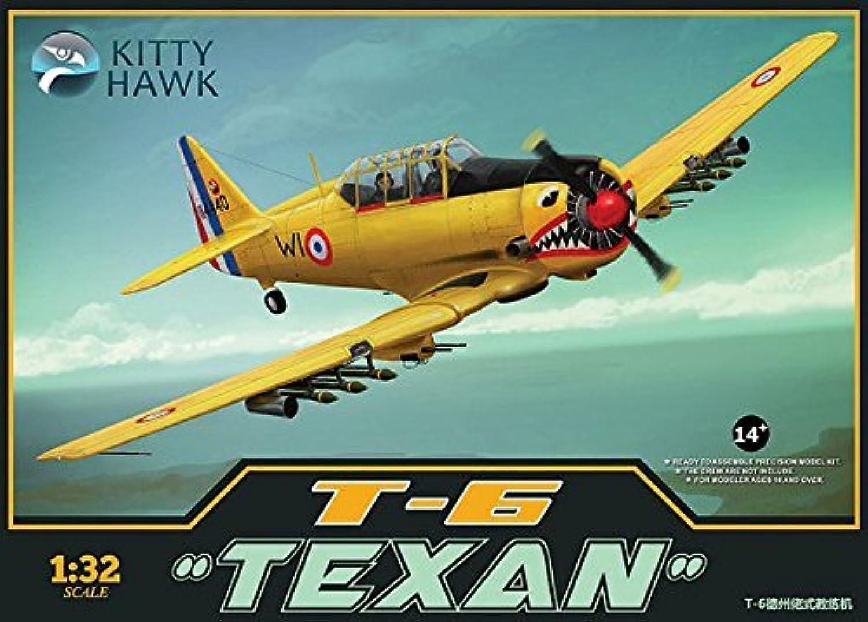 KTH32002 1 32 Kitty Hawk T-6 Texan [MODEL BUILDING KIT] by Kitty Hawk B01LW9IM5N Sonderangebot  | Qualität