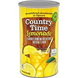 Country Time Lemonade Mix, Caffeine Free, 82.5 oz Canister