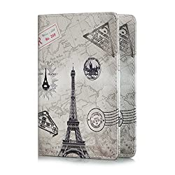 Passport Holder- Provides a comfortable feeling and protection from dust and abrasions. And of course, you can find cool fun designs (price: 8.99)!