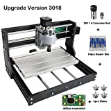 Upgrade Version CNC 3018 Pro GRBL Control DIY Mini CNC Machine, 3 Axis Pcb Milling Machine, Wood Router Engraver with...