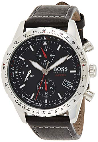 Hugo Boss Reloj para de Cuarzo con Correa en Cuero 1513770