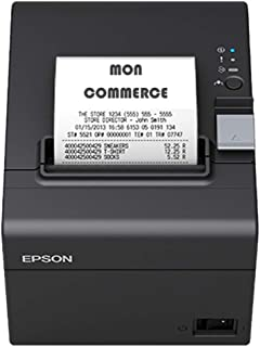 Epson Printer TM, T20Iii Ethernet Tickets USB 250mm / Sek, Zwart Glanzend, C31Ch51012