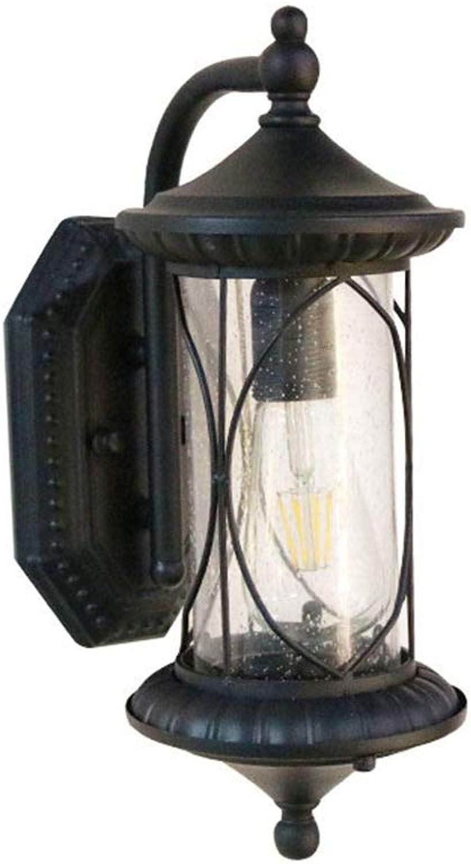 ZDHG Wandlampe,Europische Auenwandleuchte, Retro-Stil, Wasserdicht Und Rostfrei, Auen, Balkon, Garten, Korridor, Innenhof,