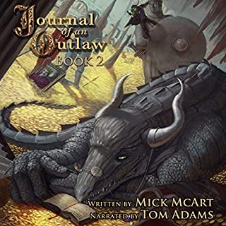 Journal of an Outlaw: Book 2 audiobook cover art