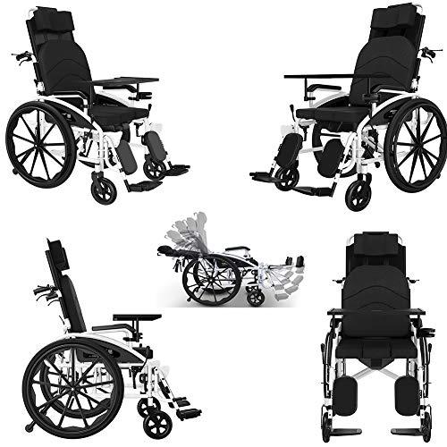 Best Price TXDWYF Lightweight Wheelchair/Folding/Small/Elder/with Commode/Full Lying/Multi-Function/...
