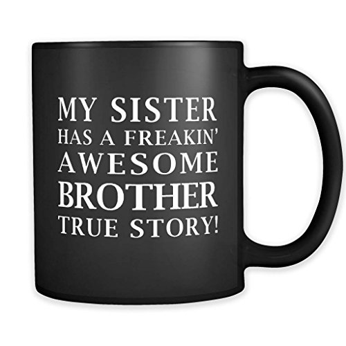 Impresionante taza para hermano, regalo para hermano, regalo para hermano, regalo para hermano, regalo para hermano, regalo para hermano, hermano, hermano, hermano, hermano, hermano, hermano, 11 onzas