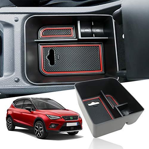 Tappetini in gomma antiscivolo premium 3D personalizzati SEAT Arona 2017-