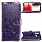 NEXCURIO Wallet Case for Galaxy A8S with Card Holder Side