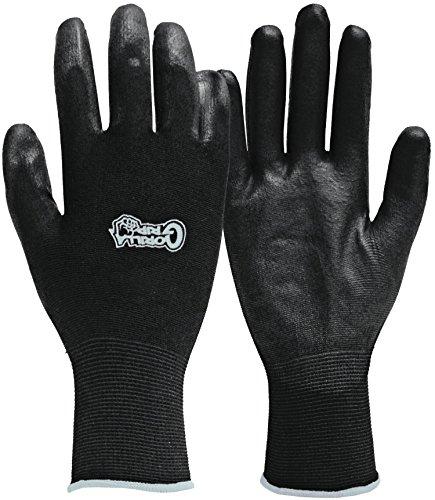 Fett Monkey 25054–26x-large Gorilla Grip Handschuhe–Schwarz