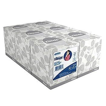 Kleenex 21271 Kleenex Facial Tissue Cube Box 95 Tissues 6PK Bundle