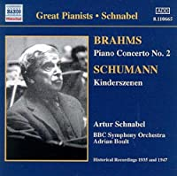 Brahms: Piano Concerto No. 2, Schumann: Kinderszenen (2006-08-01)