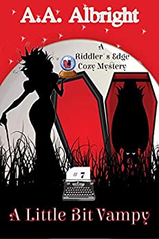 A Little Bit Vampy (A Riddler's Edge Cozy Mystery #7) by [A.A. Albright]