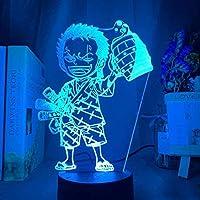 giyiohokかわいいクマの形のLedデスクランプギフト3DリモートコントロールカラフルなナイトライトUSBナイトライト3D高品質のLedナイトライト装飾ライトムードライトランプ女性のナイトライト-N32-N17