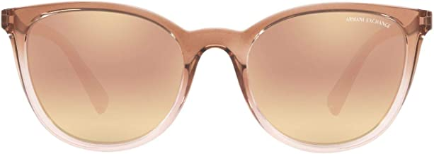 A|X Armani Exchange Women's AX4077S Pillow Sunglasses