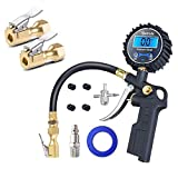 AstroAI 250PSI Tire Inflator with Pressure Gauge & Air Chuck Bundle