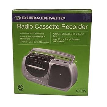 Durabrand Radio Cassette Recorder