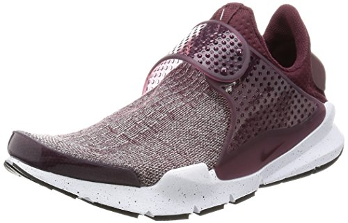 Nike Mens Sock Dart SE Premium Night Maroon/Night Maroon Running Shoe 12 Men US