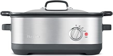 Breville BSC560BSS The Flavour Maker Slow Cooker, Brushed Stainless Steel