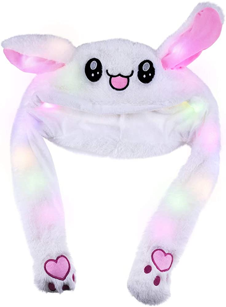 Topwon Cute Plush Bunny Hat Rabbit Cap SALENEW very popular! Pr When Up Ears National products - Popping