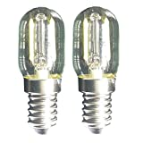 Luz De Filamento LED 1.5w T22 E14 Base Bombilla De Microondas 240v 20w LáMparas Incandescentes...