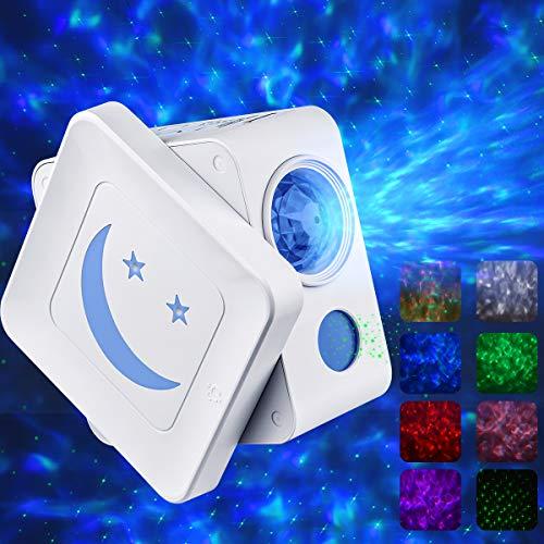 Sternenhimmel Projektor, AsperX 3-in-1 LED Sternenlicht Projektor Nachtlich, Timer&Entwurf der automatischen Abschaltung, Baby Nachtlicht für Geburtstagsfeier Zimmer Dekoration Weihnachten