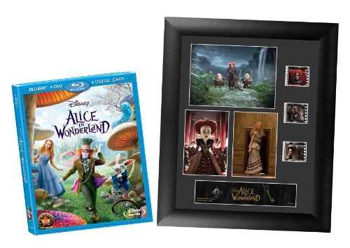 Alice in Wonderland (Three-Disc Blu-ray/DVD Combo w/Digital Copy + Film Cell Photo Frame) (Amazon.com Exclusive)
