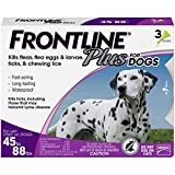 Best Flea Collar For Dogs - Frontline Plus for Dogs Large Dog Review
