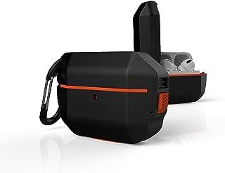URBAN ARMOR GEAR Apple AirPods Pro用 充電ケース用ハードケース(耐衝撃/IP65防塵防水/カラビナ付属) ブラック 【日本正規代理店品】 UAG-APPROH-BK
