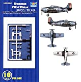Grumman F4F-4 Wildcat 10 Pack 1-350 by Trumpeter