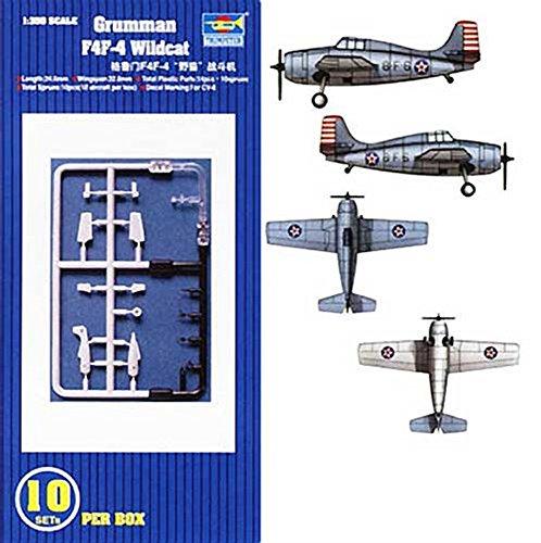 Trumpeter 6202 - Grumman F4F Wildcat 10 Piezas [Importado de Alemania]