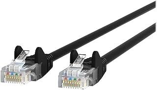 Belkin Components Cablecat5eutprj45m/m5mblkpatchsnagless