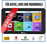 Elebest City 70 Navigationsgerät Auto - 7 Zoll HD Display, Freisprecheinrichtung, lebengslanges...
