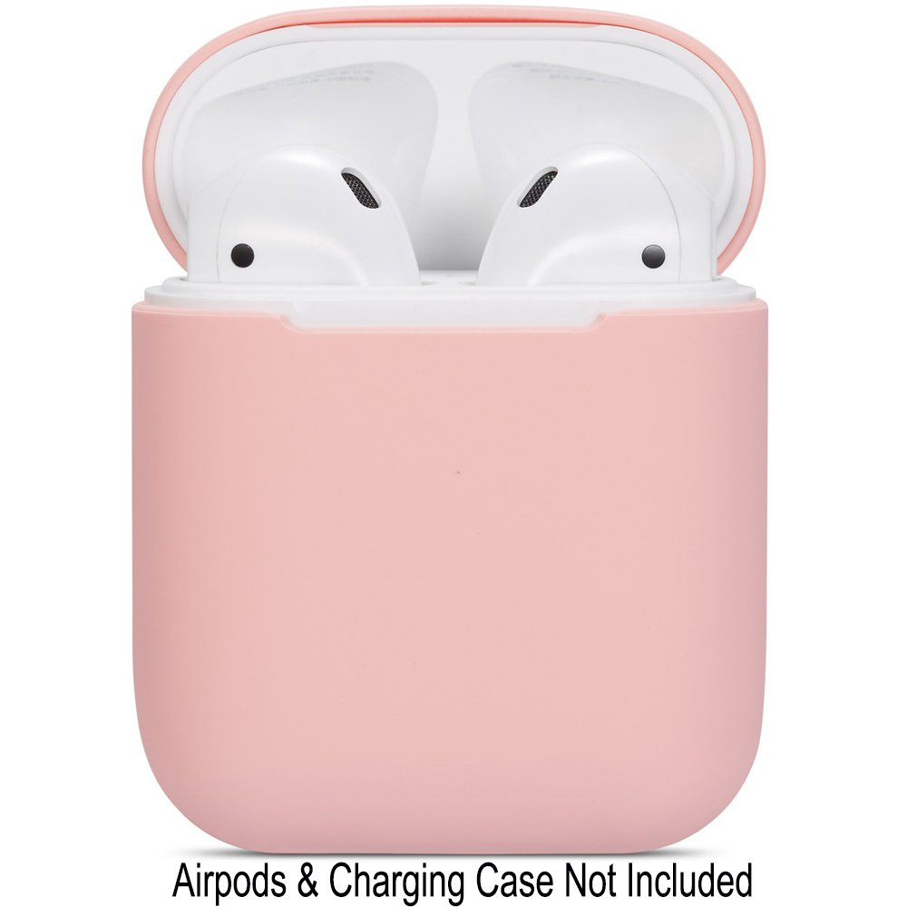 White Watruer Protective Ultra-Thin Soft Silicone Shockproof Non-Slip Protection Accessories Cover Case for Apple Airpods 3 Charging Case Airpods Pro Case