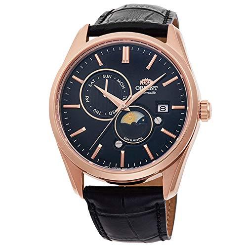 Orient Sun and Moon Automatic Black Dial Men's Watch RA-AK0304B10B
