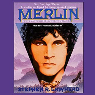 Merlin     Pendragon Cycle Book 2              By:                                                                                                                                 Stephen R. Lawhead                               Narrated by:                                                                                                                                 Frederick Davidson                      Length: 18 hrs and 10 mins     431 ratings     Overall 4.1