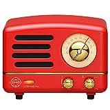 Retro Bluetooth Speaker, MUZEN OTR Metal Vintage FM/AUX Radio with Old Fashioned Classic Style, Portable Wireless Loud...