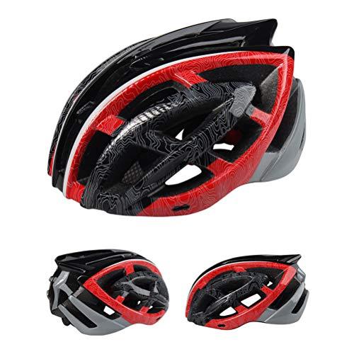 Casque de vélo de vélo Ultra-léger, Casque de vélo de Route VTT réglable Casque de vélo Casque de sécurité pour Le Ski de Ski et Les Sports extrêmes
