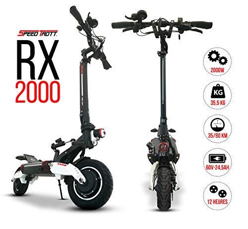 SPEEDTROTT RX2000 Trottinette électrique Sportive puissante