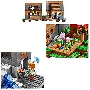 Amazon.co.jp - レゴ マインクラフト 村 21128