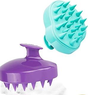 Manual Scalp Massager, JOYAUS [2 PACK] Scalp Scrub Brush,Shampoo Brush Hair Scalp Massager Hairbrushes with Easy Handle