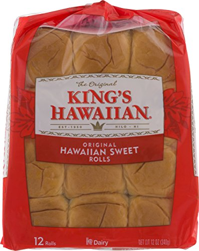 King's Hawaiian Rolls Original Hawaiian Sweet Rolls 12 ct. ( 2 packs )