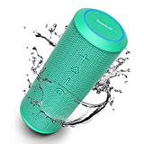 Zamkol Bluetooth Speakers, Bluetooth Speakers Portable WirelessV4.2 with Powerful 24W with 360° Bass Sound, TWS, 15H Playtime & IPX6 Waterproof, Suitable for Travel, Home and Outdoors