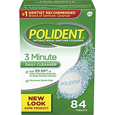 Polident Minute Triple Mint