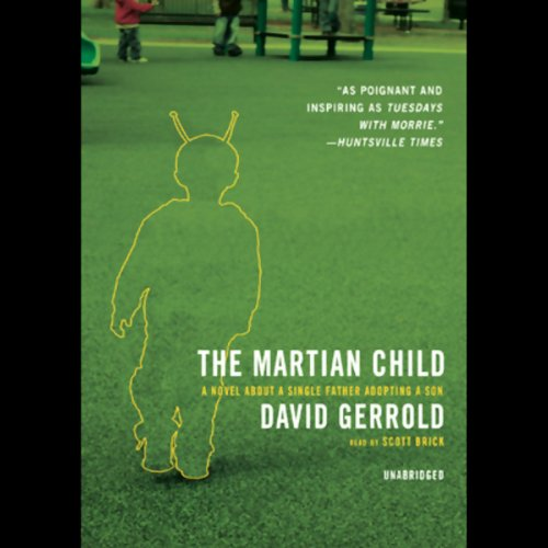 The Martian Child audiobook cover art