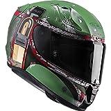 Casco Moto Hjc Star Wars Rpha 11 Boba Fett Verde (S , Verde)