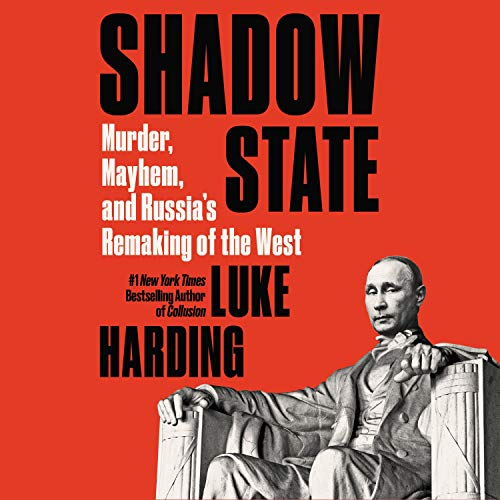 Shadow State audiobook cover art