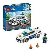 LEGO 60239 City Coche Patrulla de la Policía, Colección de Vehículos de Juguete para Niños y Niñas +5 Años con Mini Figuras