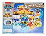 Mighty Pups Super Paws 5 Wood Puzzles